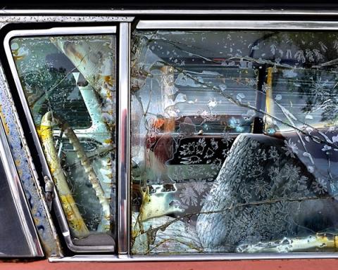 Vintage Car Window